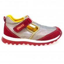 Zapato con velcro Naturino Beenie Rojo Outlet