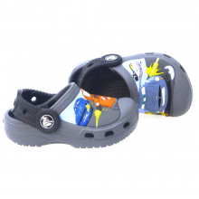 Zapatos Niño Piscina Playa Crocs 12571 Gris