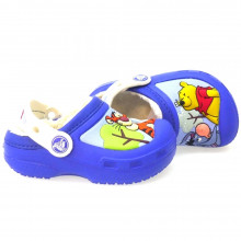 Zapatos Niño Piscina Playa Crocs 12391 Azul