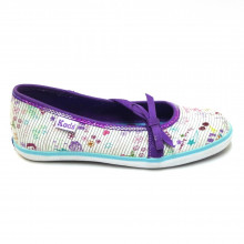 Zapatos Outlet Niña Keds Jf24929 Blanco