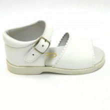 Zapatos Outlet Bebe Primeros Pasos Moda Shoes B-201 Blanco