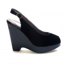 Zapatos Outlet Mujer CastaÑer Mila Negro