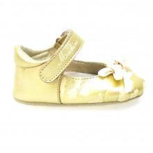 Zapatos Bebé Cuna Merceditas Bailarinas Moschino 24582 Oro