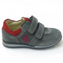 Zapatillas Ferrari Outlet niño velcro FE2936 Gris