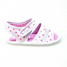 Zapatos Bebé Cuna Sandalias Guess Prarie Bl/rosa