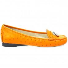 Zapatos Outlet Mujer Michael Kors Hamilton Loafer Naranja