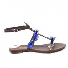 Zapatos Outlet Mujer Cafenoir Fd103 Azul