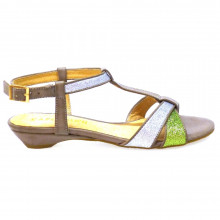 Zapatos Outlet Mujer Cafenoir Hh004 Plata