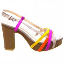 Zapatos Outlet Mujer Cafenoir Nc504 Naranja