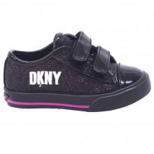 Zapatos Niña Casual Sneakers Donna Karan Linden Sparkle  Negro