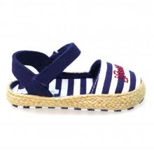 Zapatos Bebé Cuna Sandalias Guess Brandy Layette Az/bl