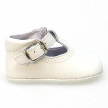 Zapato pepito sin suela Oferta D'Bebe 2189 Beig