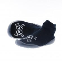 Zapatos Niño Zapatillas Casa Collegien Nu-nu-nu 4818c Negro