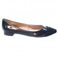 Zapatos Mujer Bailarinas Slippers Kanna 1741-04 Negro