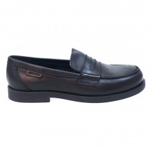 Mocasín negro antifaz uniforme escolar Privata 9929