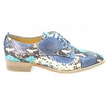Zapatos Mujer Blucher Cordon Oxford Sandro Pertini 10196 Jeans