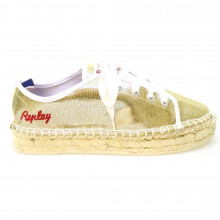 Zapatos Sport Joven Casual Sneakers Replay Pymbe Oro