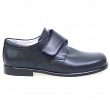 Zapato comunión velcro niño D'Bebe 6501 Azul