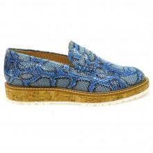 Zapato mocasín mujer Pertini 11552 Jeans