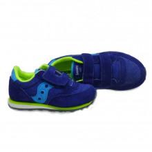 Zapatillas velcro niño Saucony Jazz Blue Citron