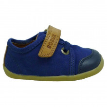Zapato sport bebé con velcro Bobux Leisure Azul