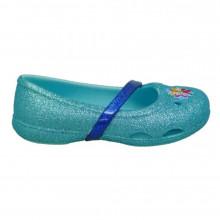 Bailarina Crocs Frozen 204454 Celeste