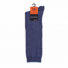 Calcetines altos brillantes Dore Dore AP400063 10493 Azul