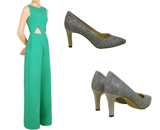 491dd64892 Zapatos con purpurina para looks de noche