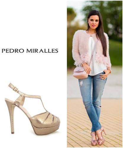 Metalizadas Dorado Miralles Pedro sandalias Zapatos Yy6vgIbf7